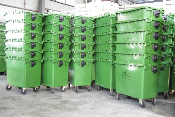 660l塑料垃圾桶, 660升塑料垃圾桶生产厂家
